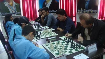خمام - یک برد، یک تساوی و یک باخت در مسابقات لیگ برتر و لیگ یک مسابقات شطرنج گیلان