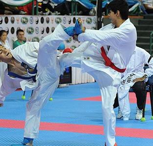افتخار آفرینی کاراتهکاهای خمامی در مسابقات استانی کاراته رده سنی نوجوانان