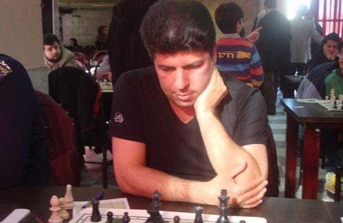 «عباس بربری» مقام سوم پنجمین دوره از مسابقات شطرنج جام دریا