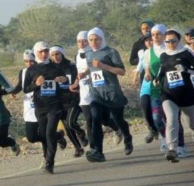 «صدیقه رستمی» نائب قهرمان مسابقهی دو صحرانوردی گیلان