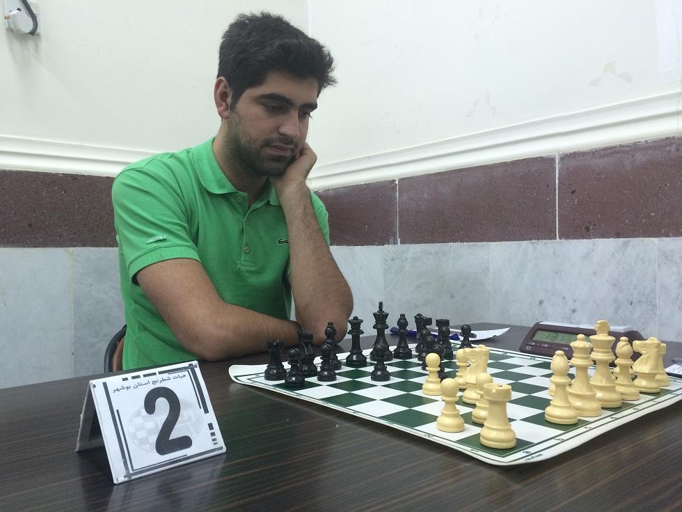 خمام - حضور امیررضا پوررمضانعلی در ششمین دوره از مسابقات شطرنج جام لیان بوشهر