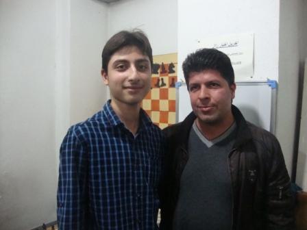 خمام - دومین دوره از مسابقات هفتگی شطرنج خمام برگزار شد
