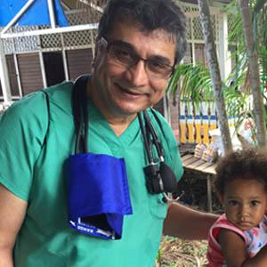پروفسور رضا نصیری در ماموریت پزشکی آمازون