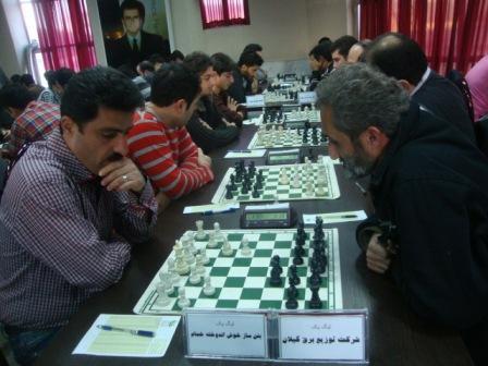 خمام - هفتهی برد خمام در مسابقات لیگ شطرنج گیلان