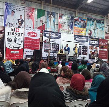 جشن بزرگ انقلاب در خمام برگزار شد