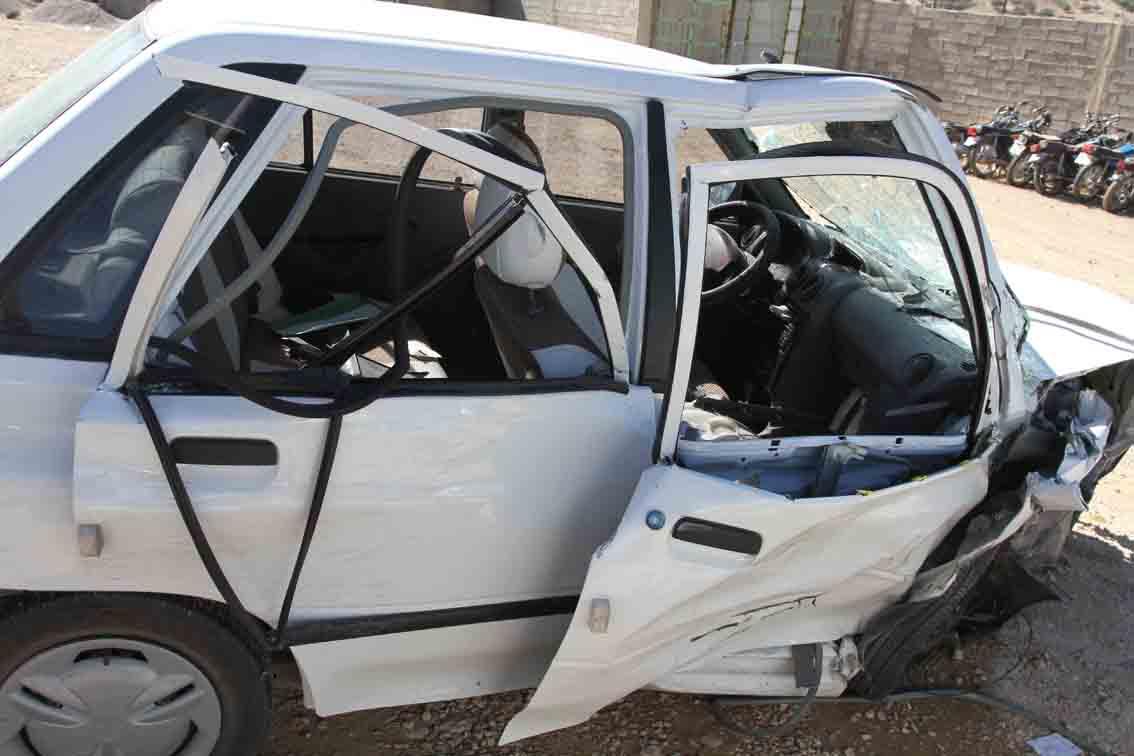 خمام - تصادف 4 خودرو مرگ عابر پیاده را رقم زد