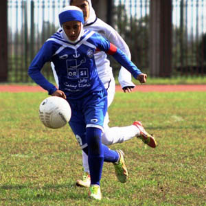 خانم گلی «سارا قمی» در لیگ برتر