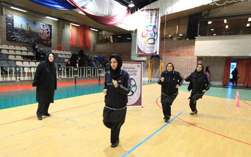 افتخار آفرینی بانوان خمامی در مسابقات آمادگی جسمانی شهرستان رشت