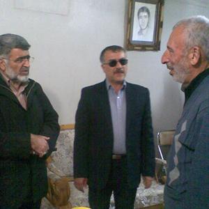 خمام - دیدار مسئولین دانشگاه فرهنگیان با خانوادهی دانشجوی شهید «حمیدرضا صنعتی»