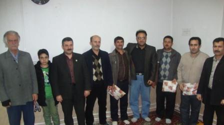 خمام - مسابقات شطرنج روستای گورابجیر صحرا برگزار شد