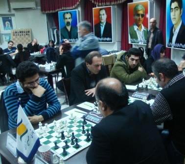 خمام - برتری تیم شهرداری خمام در مسابقات لیگ برتر شطرنج گیلان