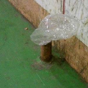 خمام - همچنان فکری بهحال میلههای فلزی نشده!