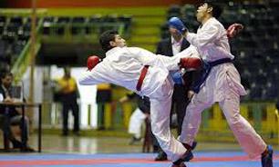 خمام - نائب قهرمانی تیم کاراته خمام در مسابقات چند جانبه تالش