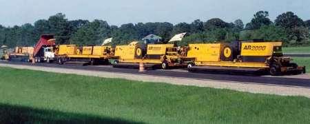 اجرای عملیات بازیافت آسفالت به روش هوای گرم به مسافت 5 کیلومتر