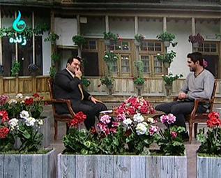 خمام - «امیررضا پوررمضانعلی» در برنامه «الا تیتی»
