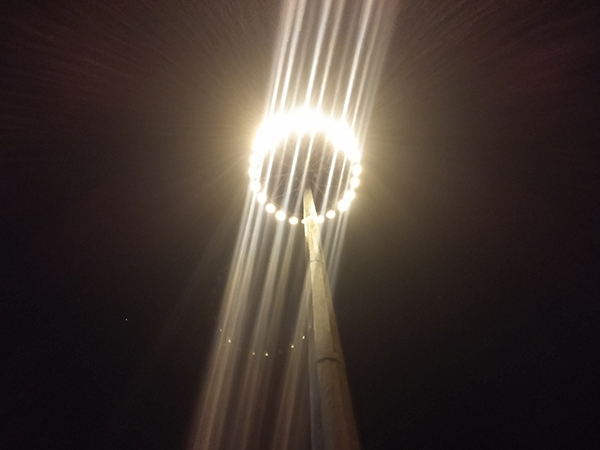 برجک نوری میدان ولیعصر (عج) روشن شد