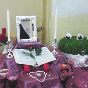 خمام - برگزاری جشنوارهی هفتسین در مدرسه دهخدا