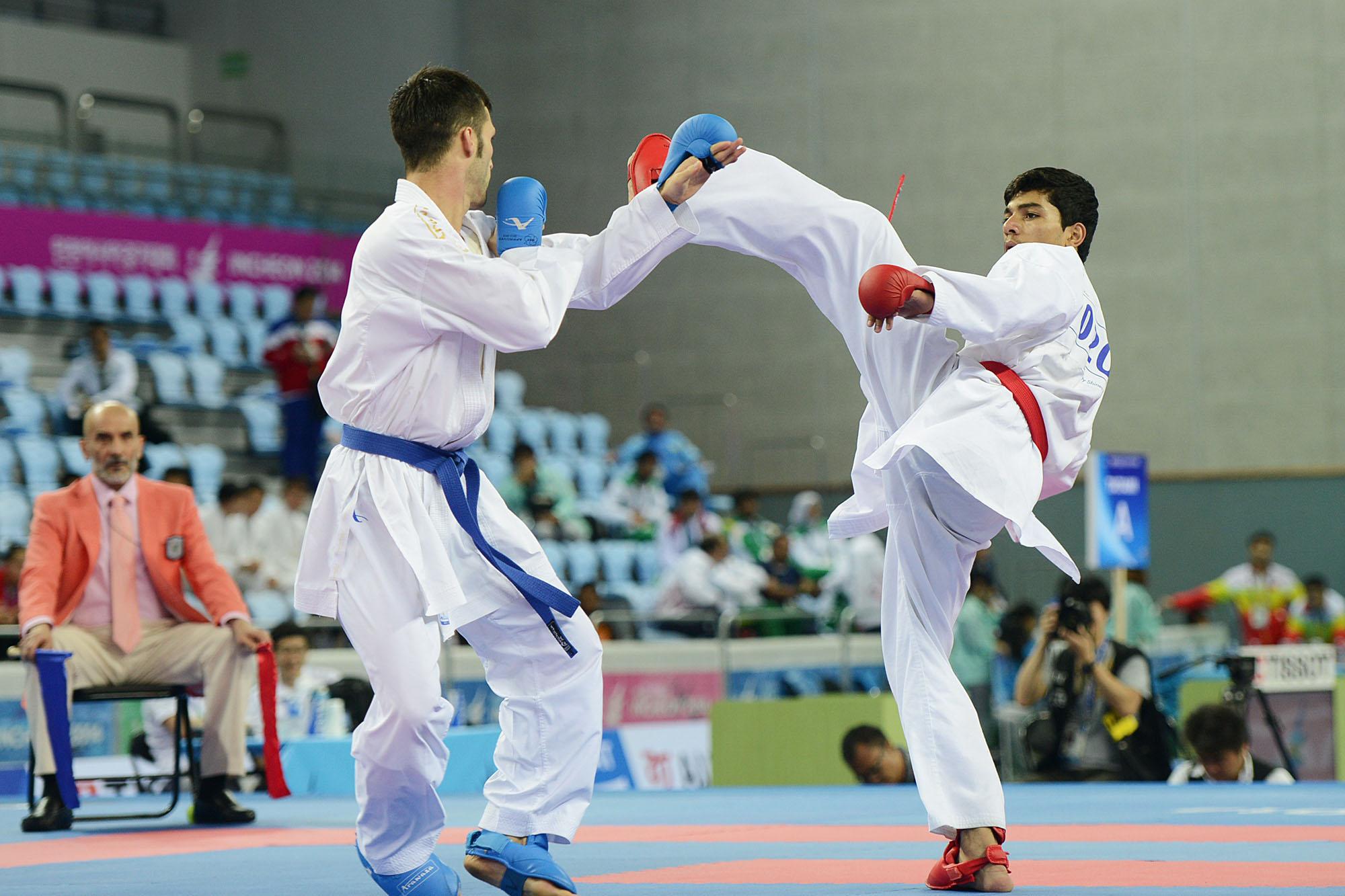خمام - کسب مقام سوم بخش کومیته تیمی کاراته آسیا