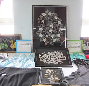 برپایی نمایشگاه هفته مشاغل در مدارس خمام