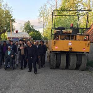 بازدید از پروژههای عمرانی روستای مرزدشت
