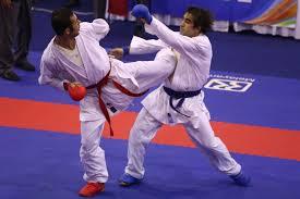 حضور سعید عباسی در اردوی انتخابی تیم ملی کاراته