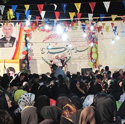خمام - جشن بزرگ نیمهی شعبان با حضور صدها تن از همشهریان برگزار شد
