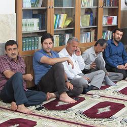 خمام - برگزاری جشن نیمهی شعبان در مسجد سیدالشهدا (ع)
