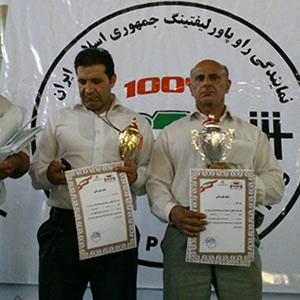 2 خمامی بر سکوی اول / کاظمی یازدهمین مدال طلای کشوری را کسب کرد