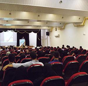 خمام - همایش افتتاحیه طرح تابستانی کانون امام رضا (ع) برگزار شد