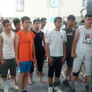 خمام - تیم ملی کاراته نوجوانان و جوانان ایران در خمام حضور یافت
