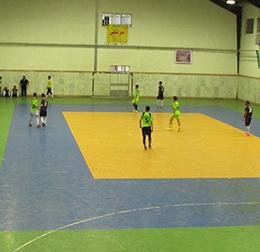 قهرمانی تیم آپادانا در مسابقات فوتسال جام رمضان سالن شهدا