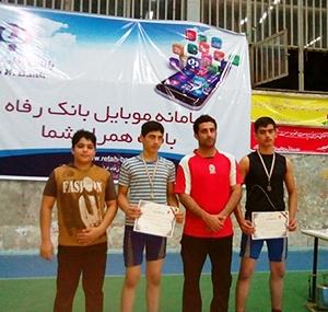 درخشش 5 کشتیگیر فرنگیکار خمامی در مسابقات قهرمانی نونهالان استان
