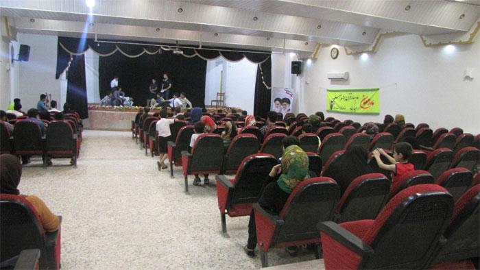 مراسم افتتاحیه کلاسهای تابستانی کانون شهید حقشناس برگزار شد