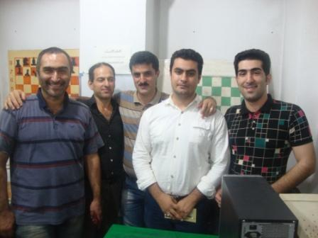 خمام - حامد میراحمدی ؛ قهرمان مسابقات جام رمضان شطرنج خمام
