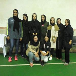 نائب قهرمانی تیم والیبال بانوان خمام در مسابقات جام رمضان شهرستان رشت
