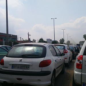 ترافیک کلافهکننده در عملیات آسفالت / لزوم تعبیه سرعتگیر برای برخی بریدگیها