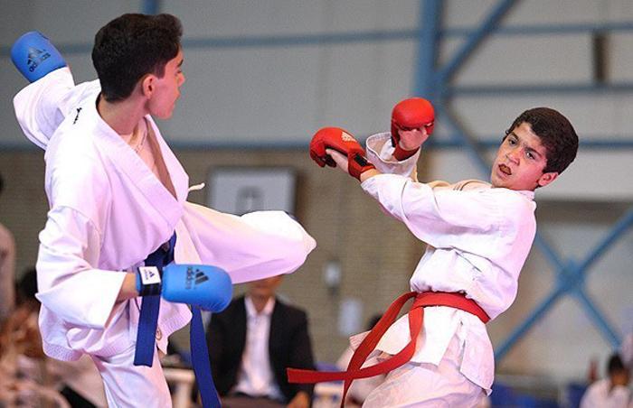 خمام - افتخار آفرینی تیم کاراته خمام در مسابقات استانی