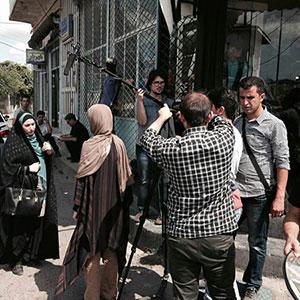 تصاویری از پشت صحنهی فیلم کوتاه «من بیگناهم» به کارگردانی مهرزاد فکری