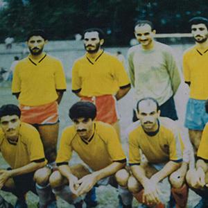 تیم شهید فانی خمام در دههی 70