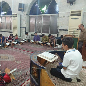 خمام - برگزاری کلاسهای روخوانی و روانخوانی قرآن