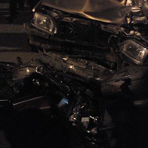 تصادف پراید با موتورسیکلت یک مجروح برجای گذاشت