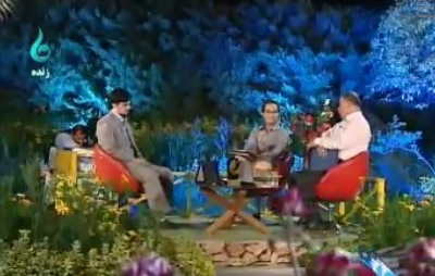 خمام - حضور محمدجواد عاطفی در برنامه تلویزیونی روجا