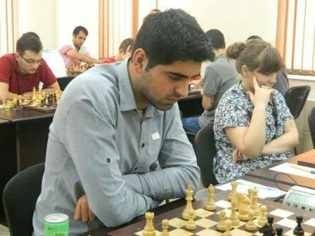 خمام - حضور شطرنجباز خمامی در مسابقات آزاد استانبول