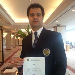 نوروزی به سطح A داوری آسیا دست یافت