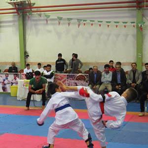 خمام - مقام سوم تیم کاراته خمام در مسابقات سبک شیتوریو شوبوکان قهرمانی کشور