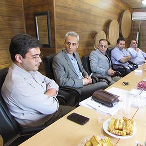جلسه شورای شهر با پزشکان خمام برگزار شد