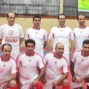 قهرمانی تیم مسئولین در رقابتهای فوتسال / هنرمندان و پیشکسوتان دوم و سوم شدند
