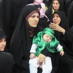 همایش شیرخوارگان حسینی برگزار شد