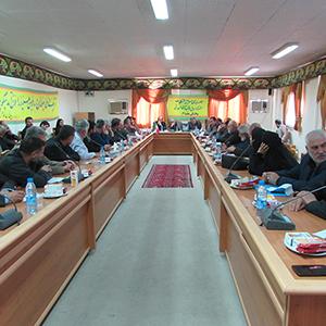 جلسه بررسی مشکلات شبکه برق و آب آشامیدنی بخش خمام برگزار شد