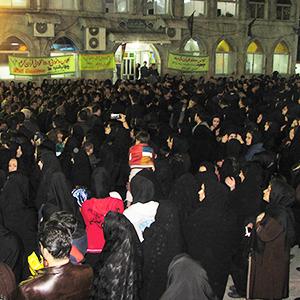 اجتماع عظیم عزاداران خمامی در تاسوعای حسینی
